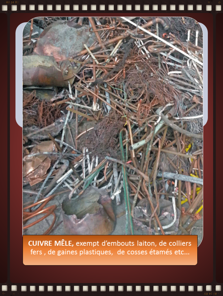 Ajk Recyclage Recuperation Achat Fers Metaux Cables Cuivre Metaux